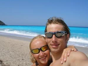 naše svatební cesta v Řecku, ostrov Lefkada