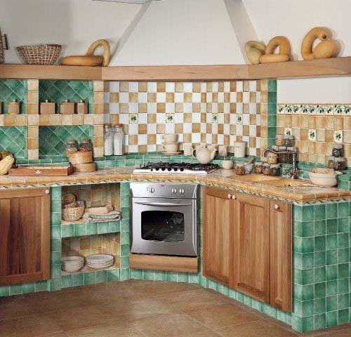 Zděné kuchyně - Obrázek č. 40