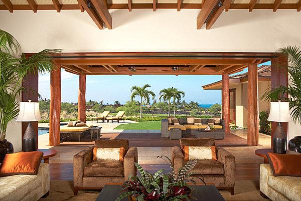 Obývací pokoj - i ten výhled bych brala