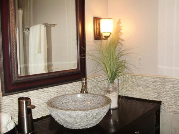 Oblázky v koupelně - Obrázek č. 1