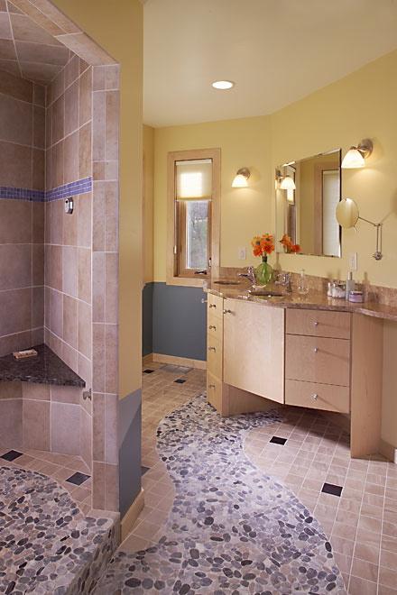 Oblázky v koupelně - Obrázek č. 2