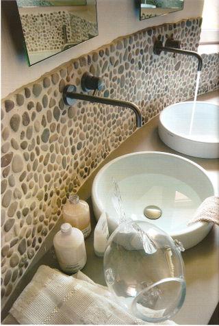 Oblázky v koupelně - Obrázek č. 3