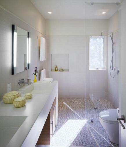 Oblázky v koupelně - Obrázek č. 13