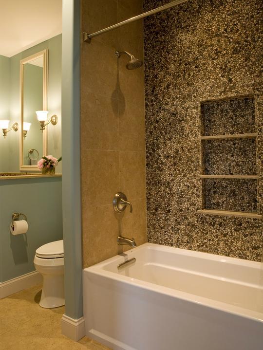 Oblázky v koupelně - Obrázek č. 14