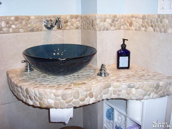 Oblázky v koupelně - Obrázek č. 24