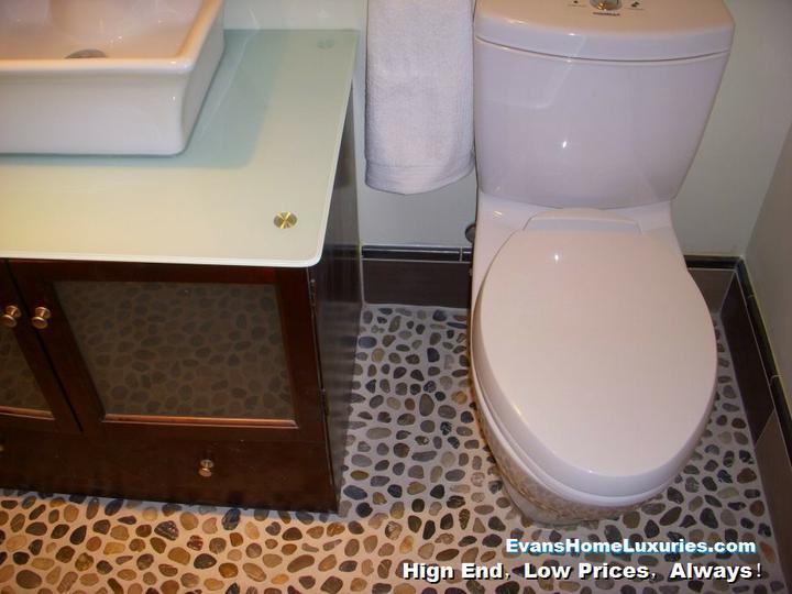 Oblázky v koupelně - Obrázek č. 26