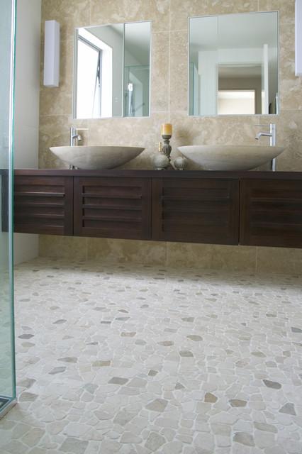 Oblázky v koupelně - Obrázek č. 27
