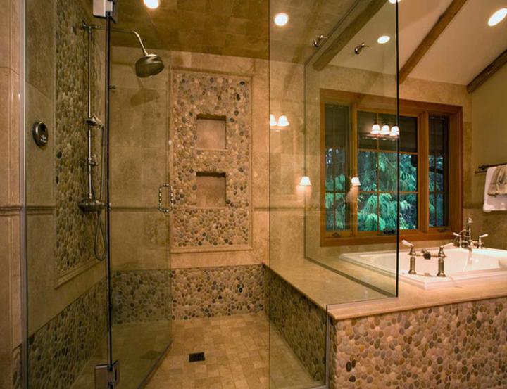 Oblázky v koupelně - Obrázek č. 28
