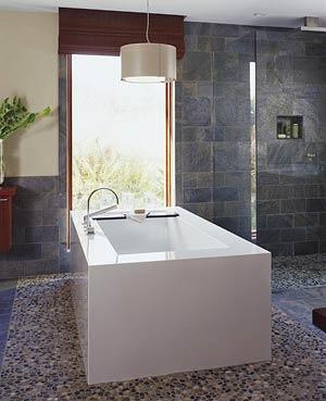 Oblázky v koupelně - Obrázek č. 31