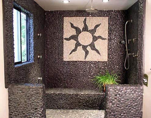 Oblázky v koupelně - Obrázek č. 33