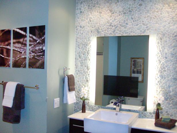 Oblázky v koupelně - Obrázek č. 37