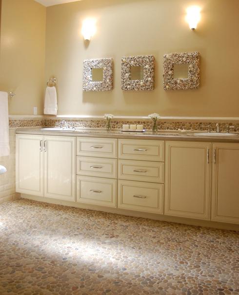 Oblázky v koupelně - Obrázek č. 39
