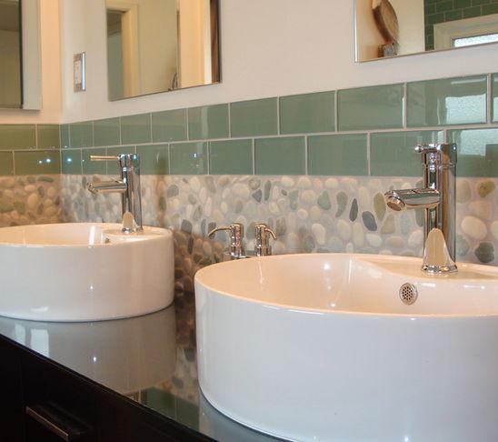 Oblázky v koupelně - Obrázek č. 48