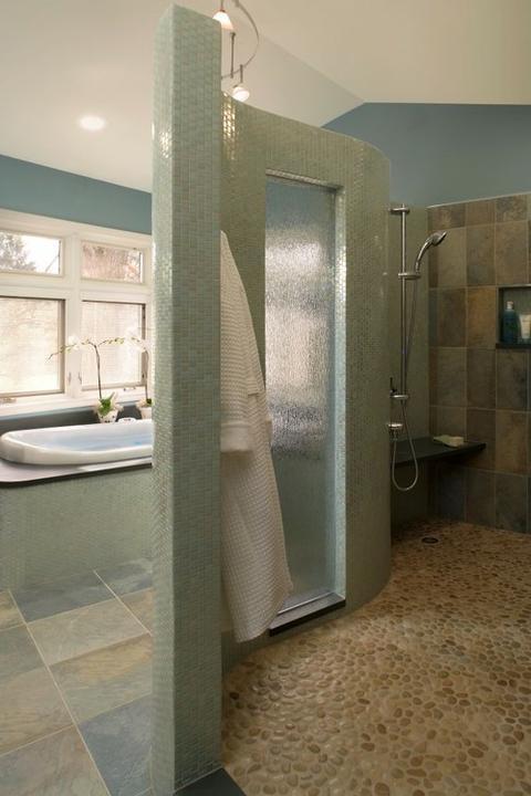 Oblázky v koupelně - Obrázek č. 55