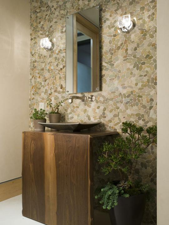 Oblázky v koupelně - Obrázek č. 57