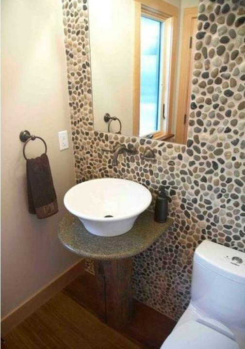 Oblázky v koupelně - Obrázek č. 60