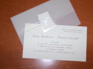 svatební oznámění