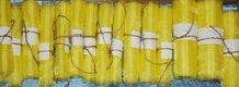 Organza žltá 57,5 m (rôzne dĺžky),