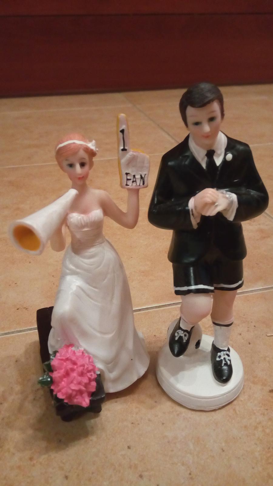 2ks figurky na tortu pre futbalistu - rozhodcu - Obrázok č. 3