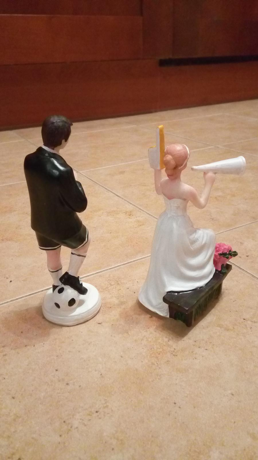 2ks figurky na tortu pre futbalistu - rozhodcu - Obrázok č. 1