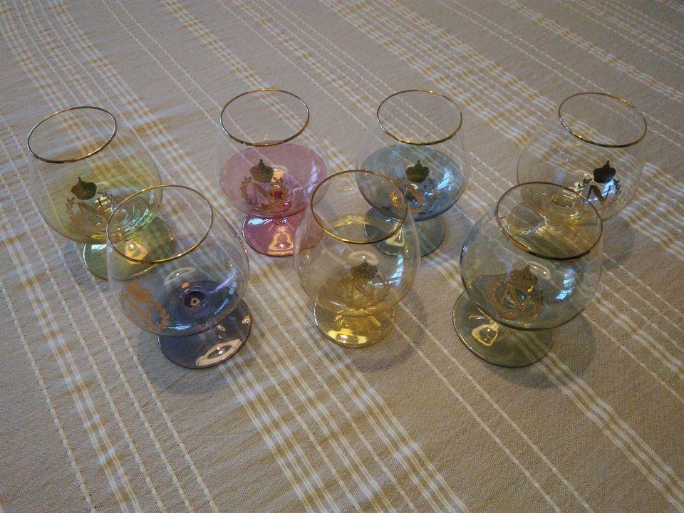 Retro skleničky - Obrázek č. 1