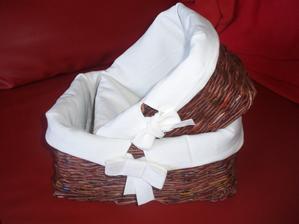 košíky z papiera - súprava