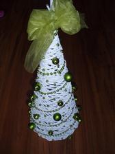 Stromcek - vyska 50 cm - bielo zelený