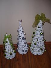 stromceky z papiera - 30 cm, 40 cm a 50 cm