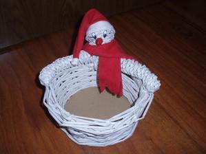 snehuliačik na košíku