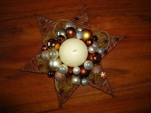 hviezda  - priemer 35 cm - uz hotova