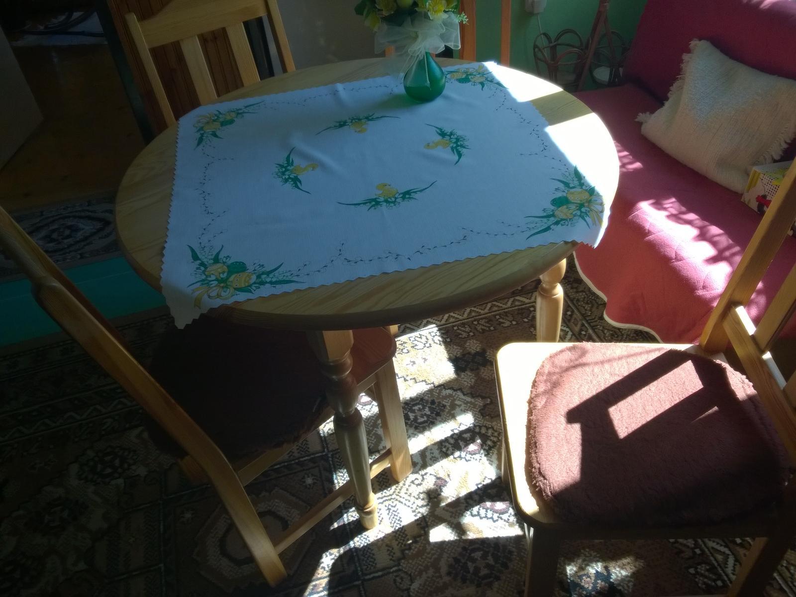 stôl a stoličky - Obrázok č. 2