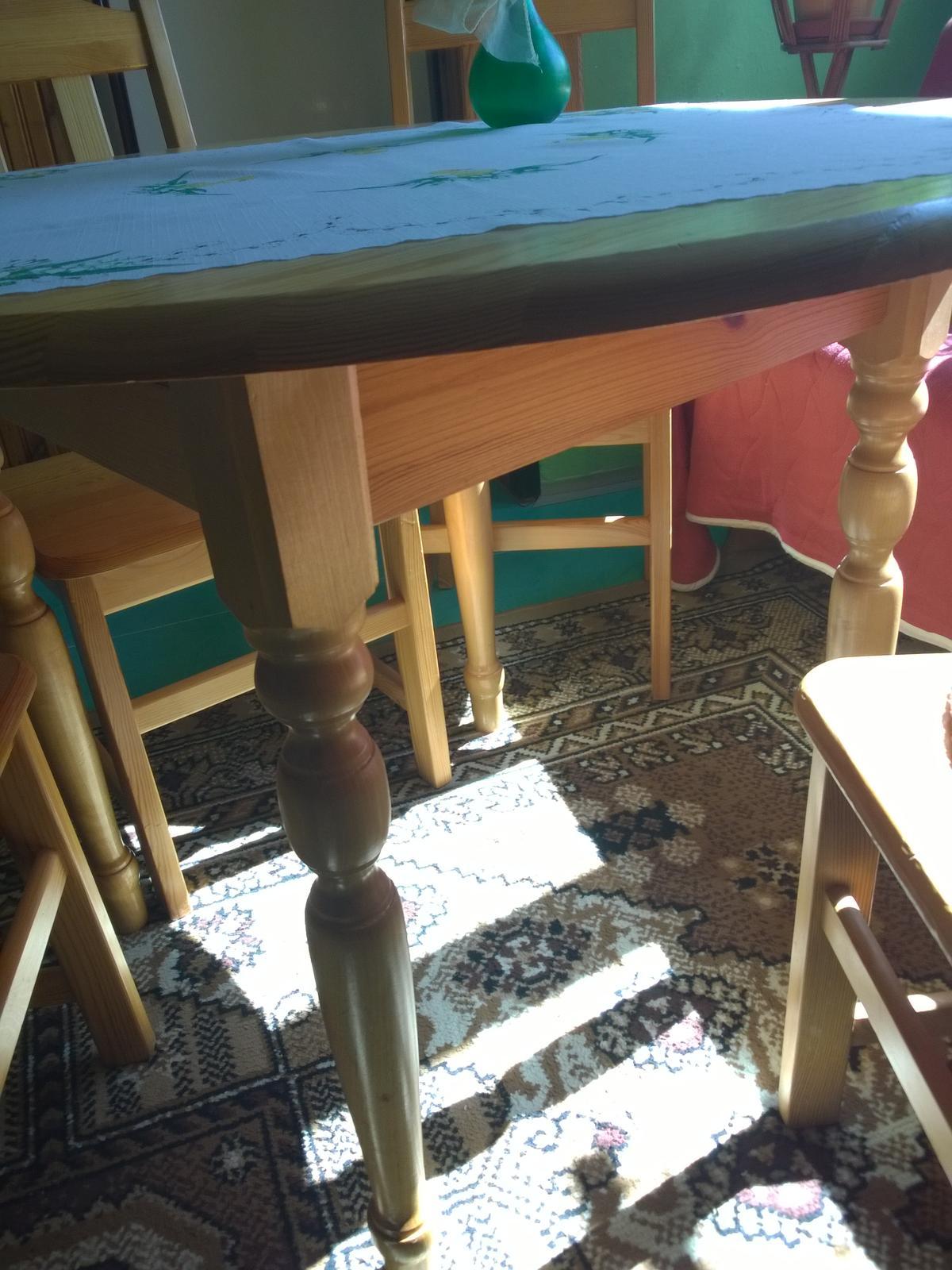 stôl a stoličky - Obrázok č. 4