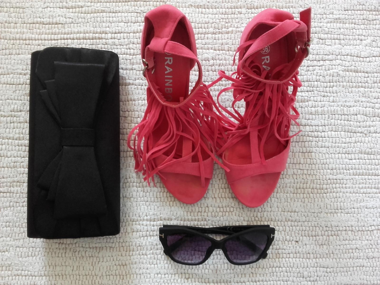 sandálky so strapcami - Obrázok č. 3