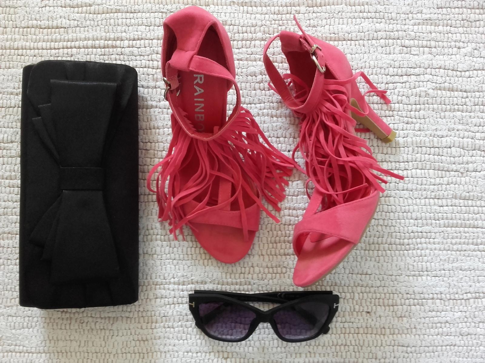 sandálky so strapcami - Obrázok č. 2