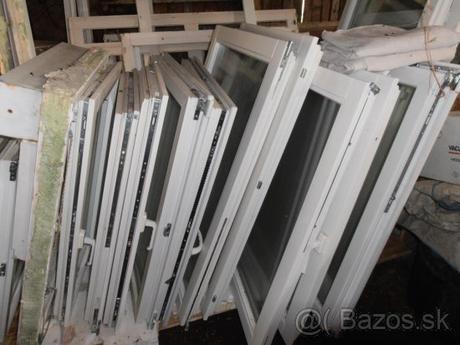 Drevené a plastové okná - biele - Obrázok č. 1