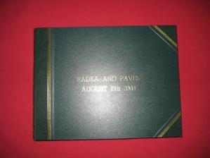 nase album a zaroven 1.svatebni dar
