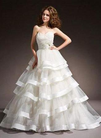 Svadobné šaty - čo poviete? mne sa veľmi páčia