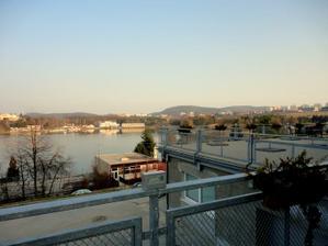 Výhled na přehradu :-)