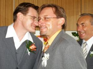 """tři """"moji chlapi"""" manžel,brácha,taťka..."""