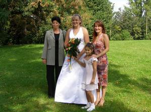 kamarádky ze střední:-)Lenka a Lenka a Claudinka