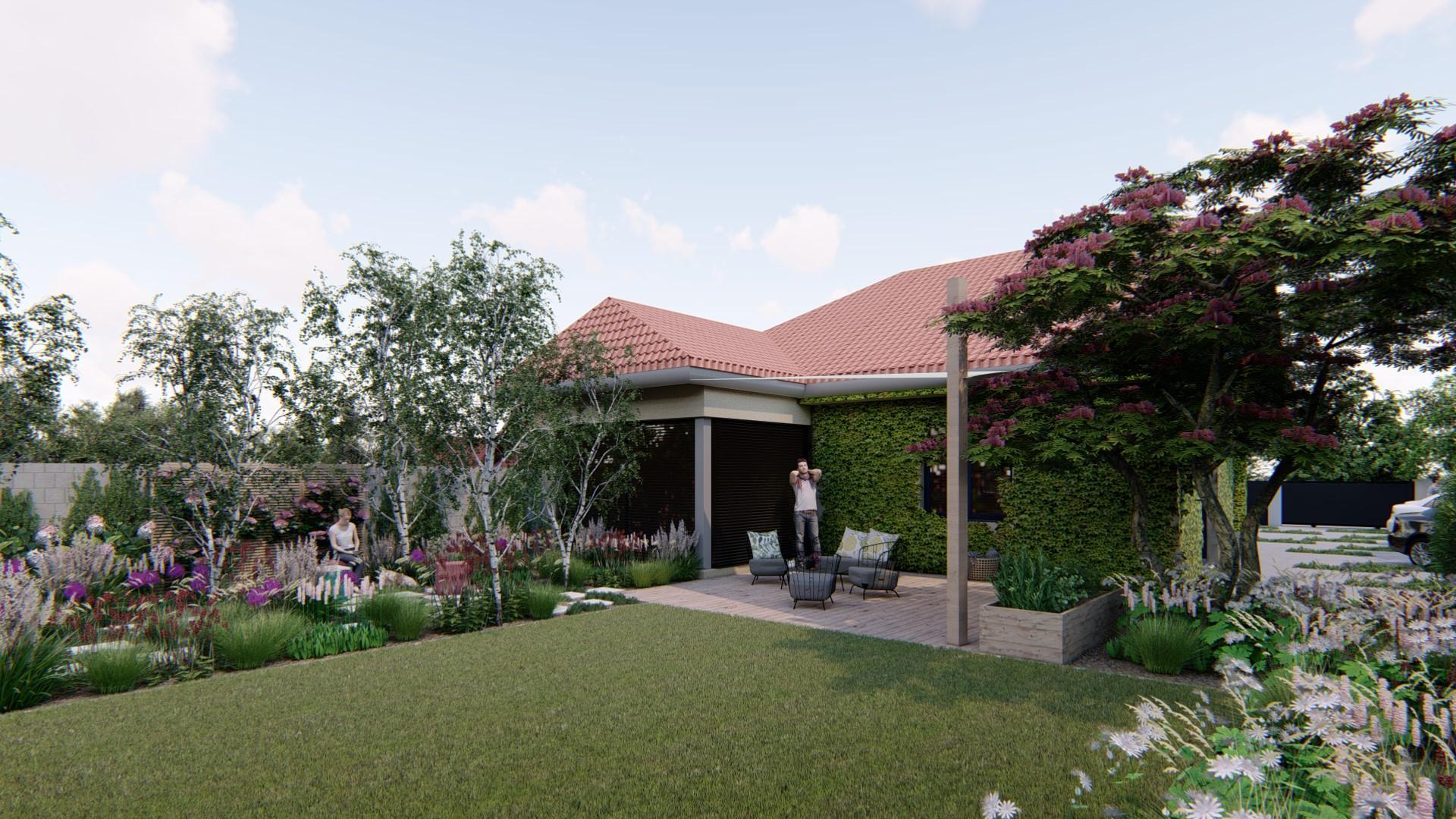 Záhrada s brezami - Obrázok č. 2