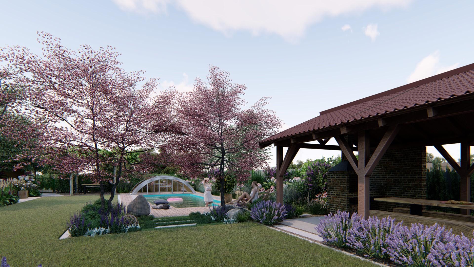 Záhrada s brezami - Obrázok č. 8