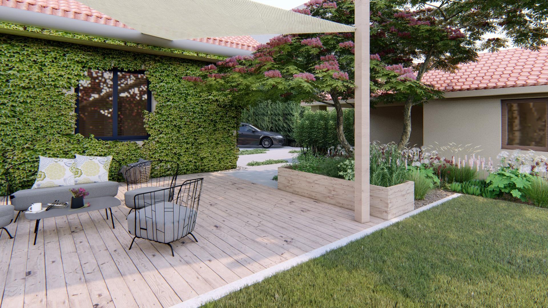 Záhrada s brezami - Obrázok č. 6