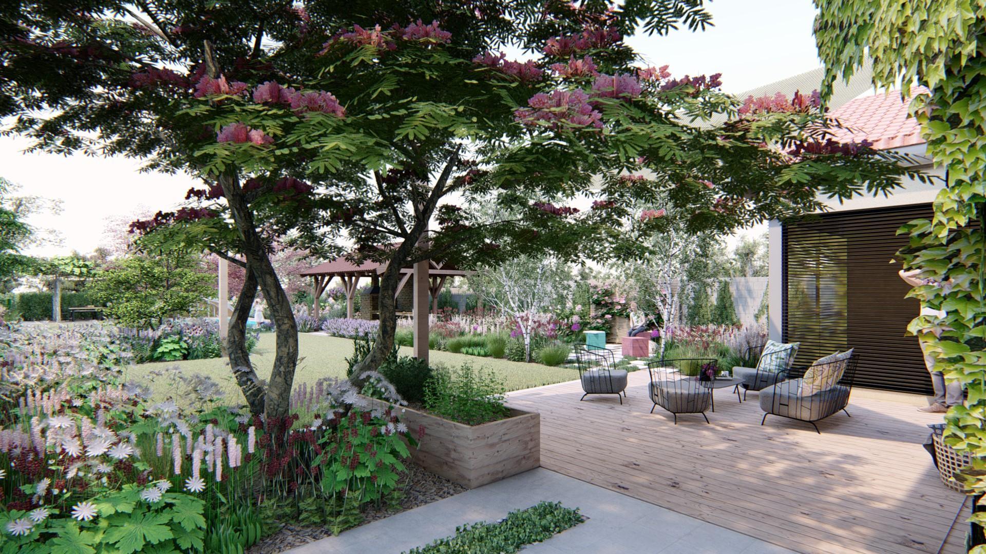 Záhrada s brezami - Obrázok č. 7