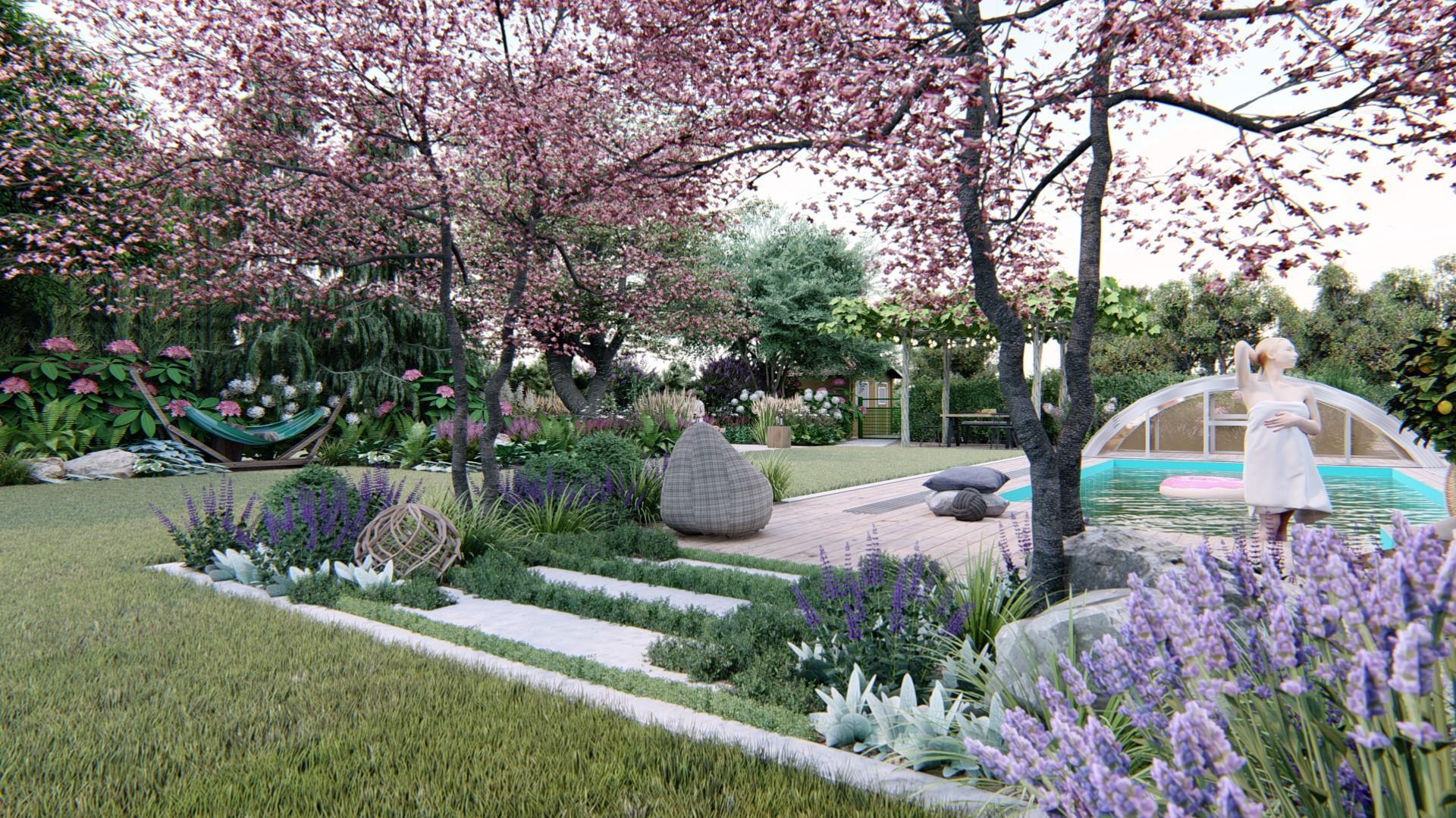 Záhrada s brezami - Obrázok č. 10