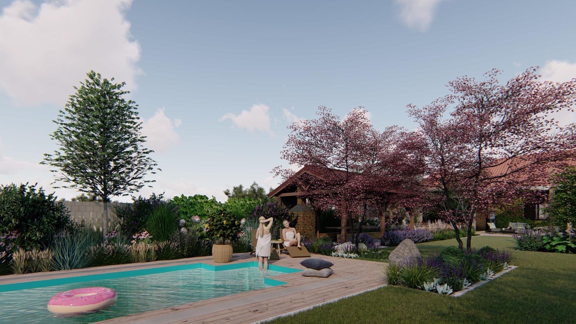 Záhrada s brezami - Obrázok č. 11