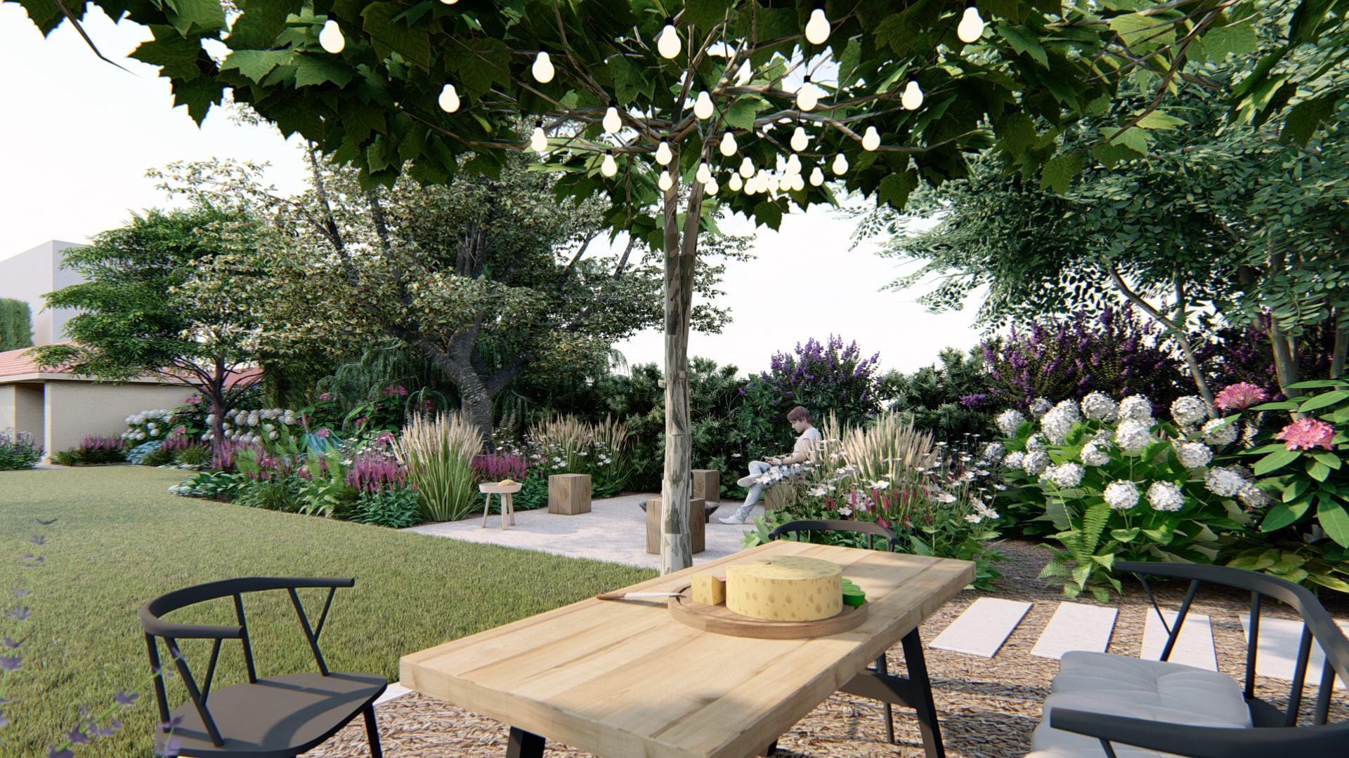 Záhrada s brezami - Obrázok č. 13