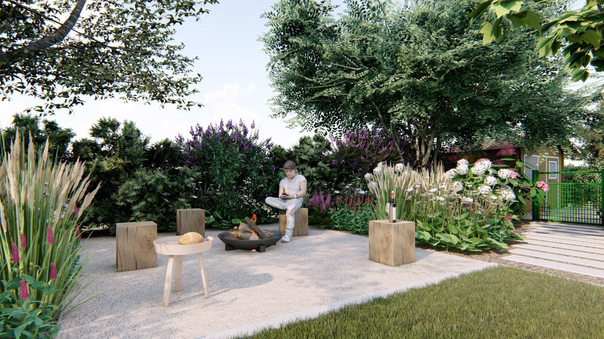 Záhrada s brezami - Obrázok č. 15