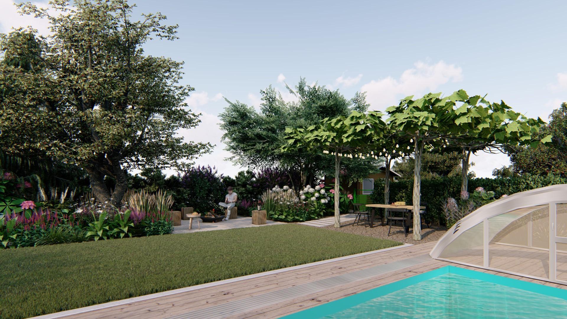 Záhrada s brezami - Obrázok č. 16