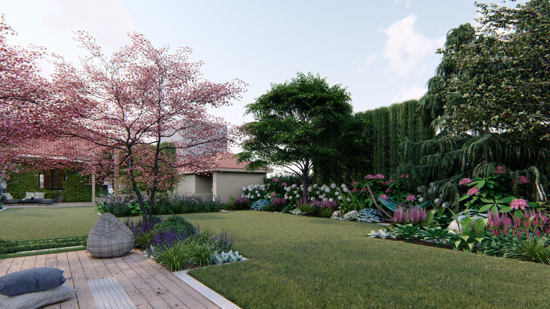 Záhrada s brezami - Obrázok č. 17
